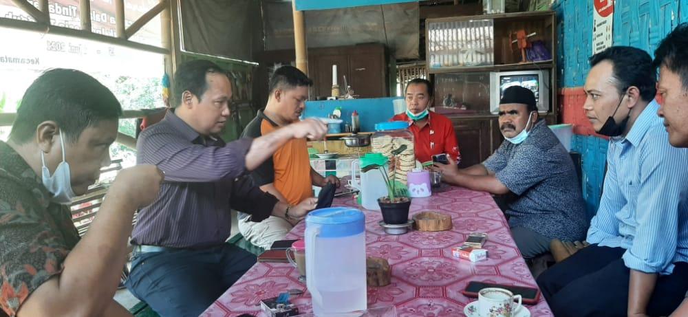 Dirjen Pembangunan Desa Monitoring Penyaluran BLT DD Di Kecamatan Panekan