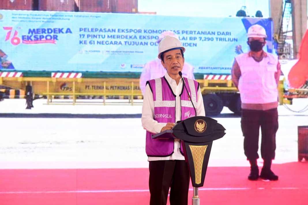Presiden Minta Kepala Daerah Gali Potensi Ekspor Pertanian