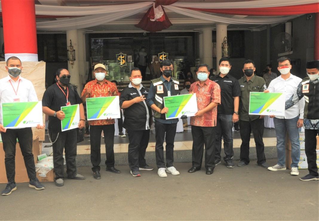 Relawan Surabaya Memanggil Dicover BPJS Ketenagakerjaan