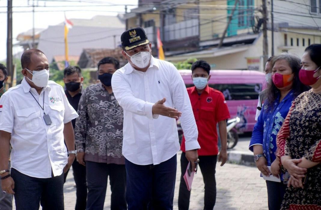 Armuji Apresiasi Perjuangan Pelaku UMKM Kecamatan Wonocolo