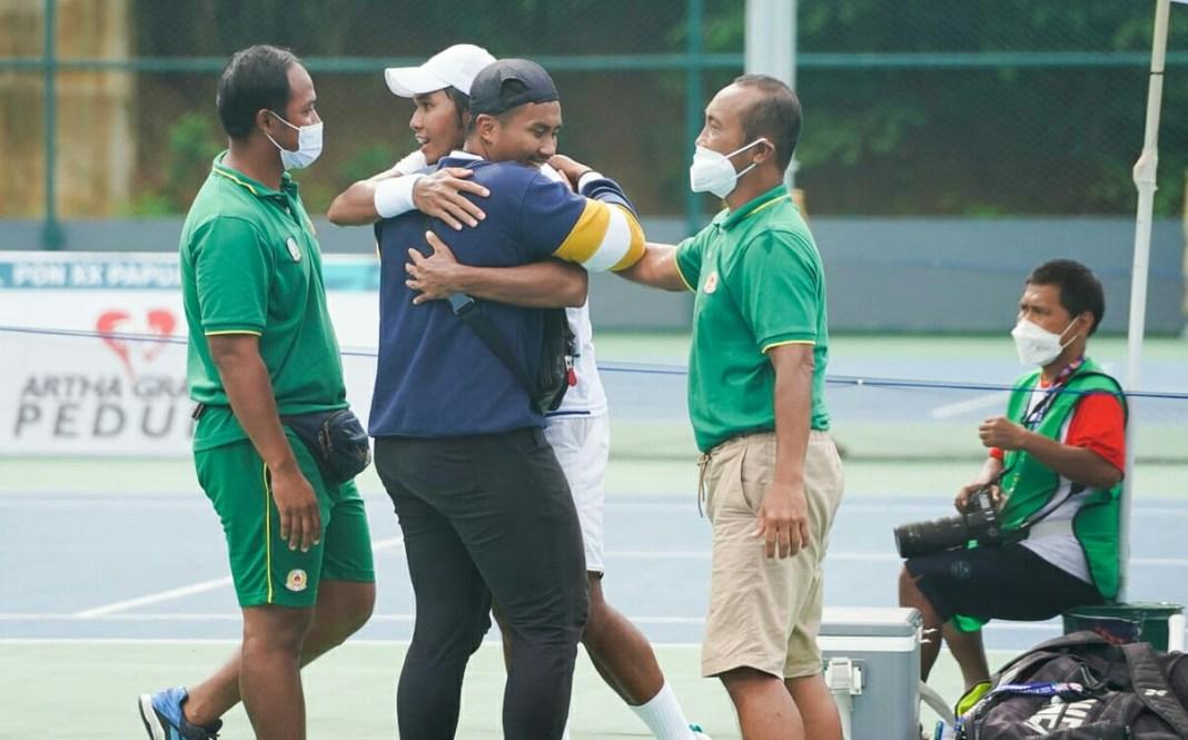 Tenis Jatim Sapu Bersih Medali Emas PON Papua
