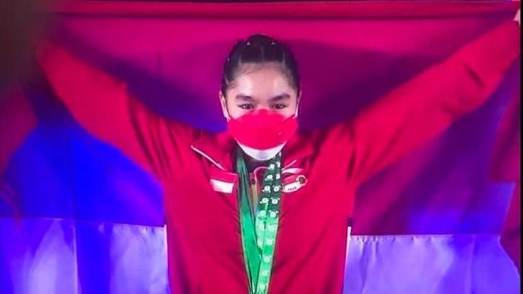 Najla Raih Tiga Perunggu Kejuaraan Dunia Angkat Besi