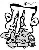 A caricatura que tirou Sarkozy do sério