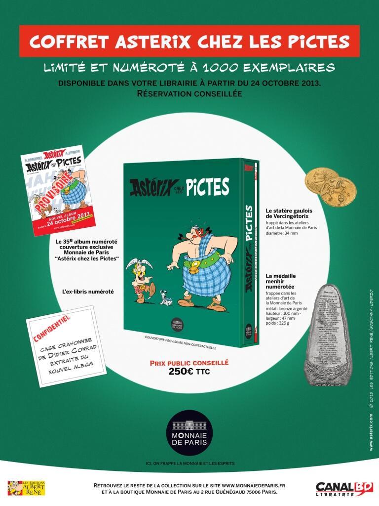 Monnaie de Paris Asterix