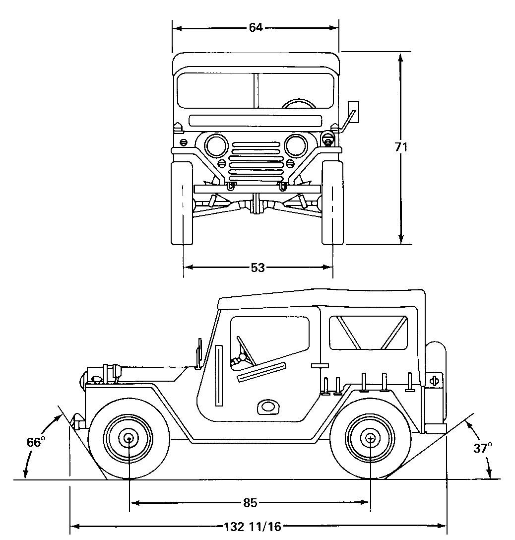 Warwheels M151a1 Mutt 1 4 Ton 4x4 Utlity Truck Index