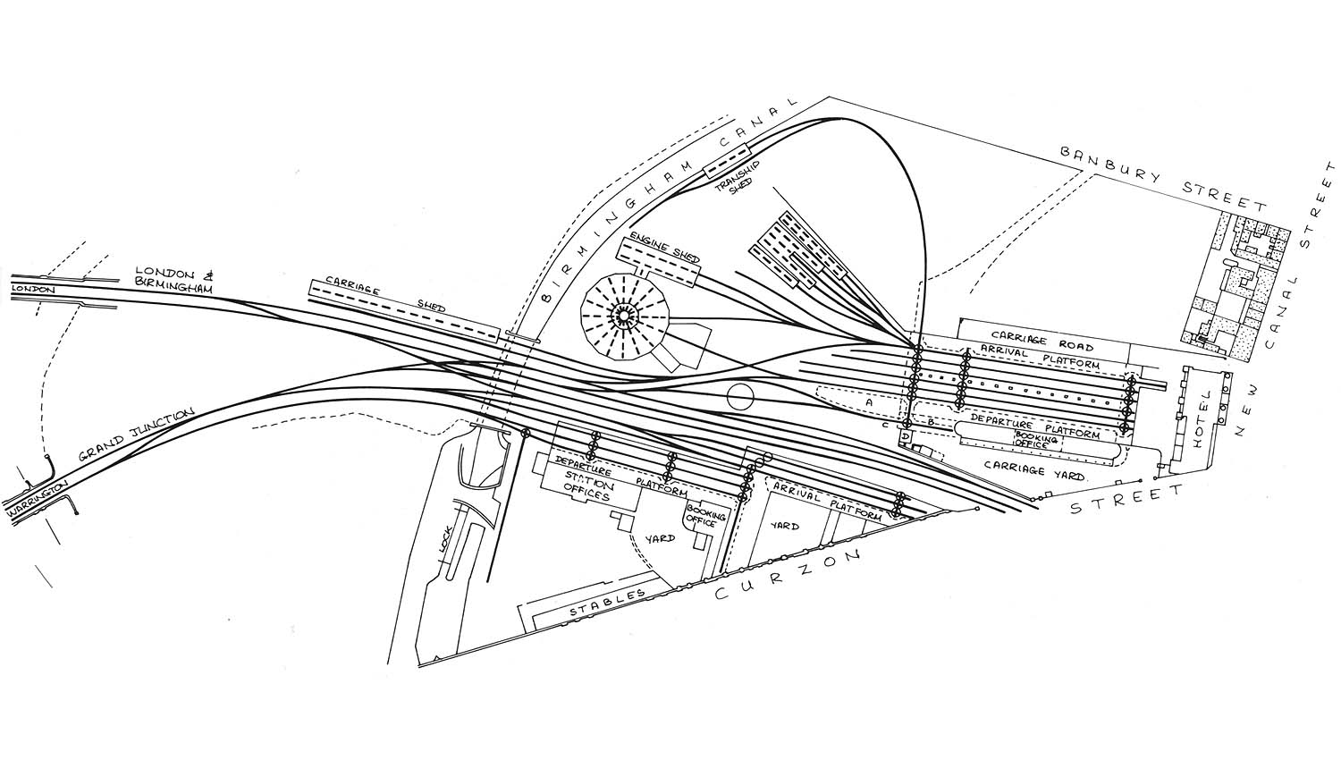 Curzon Street Shed Plan Of The Approach And Layout Of