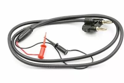 Pomona 5411-C-36 Double Plug to SMD Grabbers Test Lead