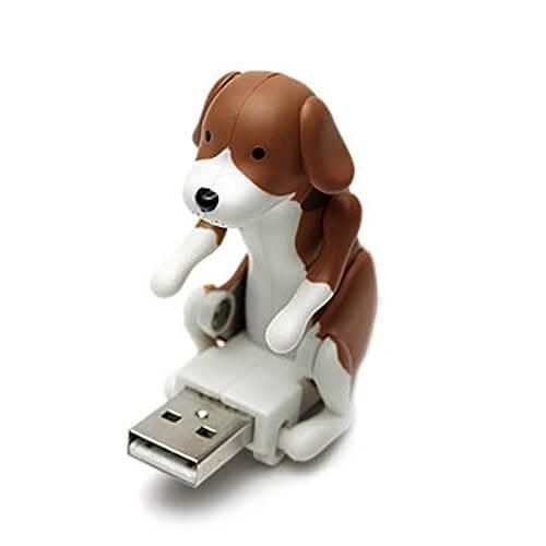 Rammelnder USB Stick, bumsender Hund USB Speicher, Geschenkidee für Männer
