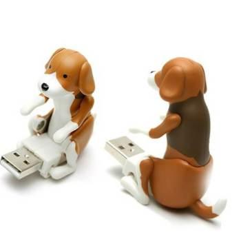 Rammelnder USB Stick, rammelnder Hund USB Stick