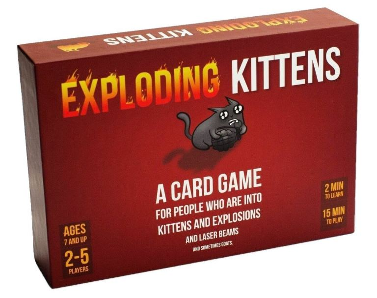 Exploding Kittens - Männer Must-Have