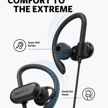 Kabellose Bluetooth Kopfhörer - Bluethooth 5.0 - 12h Akkulaufzeit - Kopfhörer zum Laufen - Weihnachtsgeschenk für den Mann