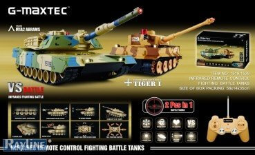 RC Panzer Battle Set, Geschenkidee für Männer