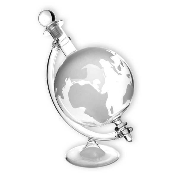 Karaffe im Globus-Design 2 Geschenk für papa