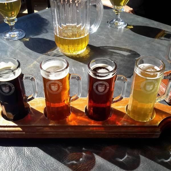 Bierhalter 4 Gläser Bierbedarf Weinbedarf Schnaps-Geschenke 4