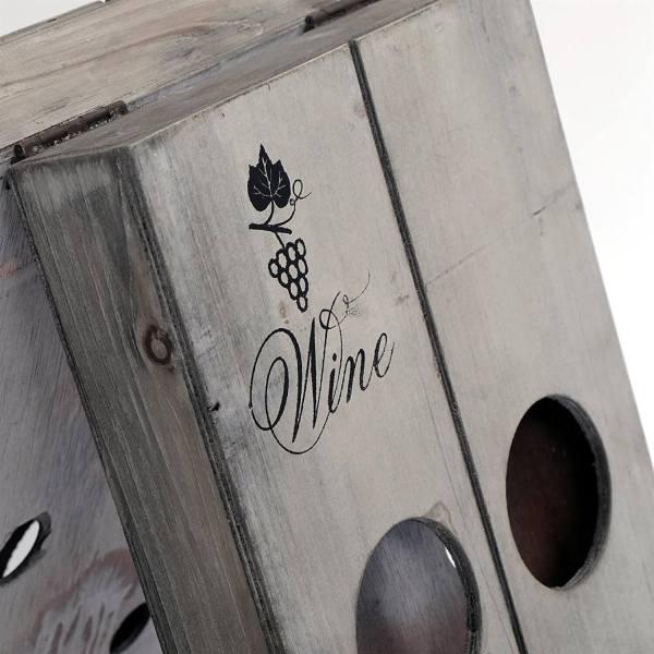 Kreativer Weinflaschenhalter - Geschenke für Weinkenner Männergeschenk 2
