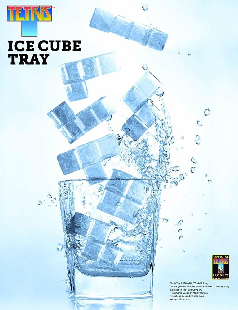 Tetris Eiswürfelform - Geschenke für Nerds