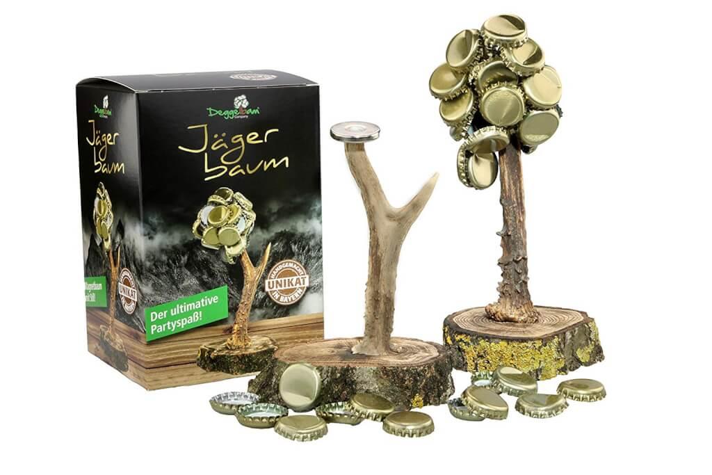 Deckelbaum Jägerbaum Magnetbaum Kronkorkenbaum Trinkspiel Kronkorkenhalter Männergeschenk