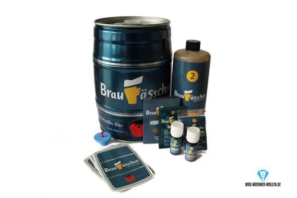 1 Bierbrau-Set Bierbrau-Kit Bier selber brauen leicht gemacht braufäßchen