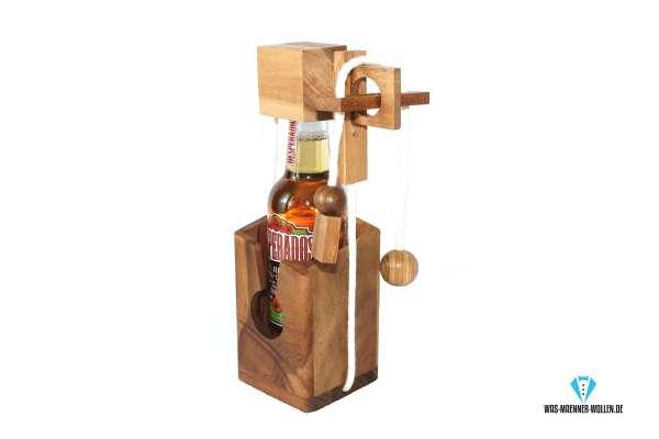 1 Bierflaschen Puzzle Bierflaschen Puzzel Holzdenkspiel Kreative Geschenkverpackung