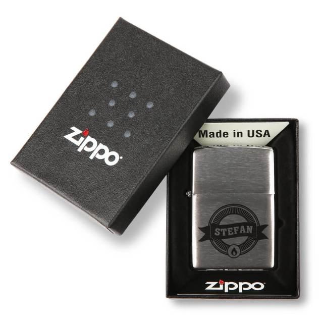 Personalisiertes Zippo - günstiges Männergeschenk