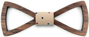 Holzfliege - Fliegen aus Holz zum Anzug Smoking - Männergeschenkidee