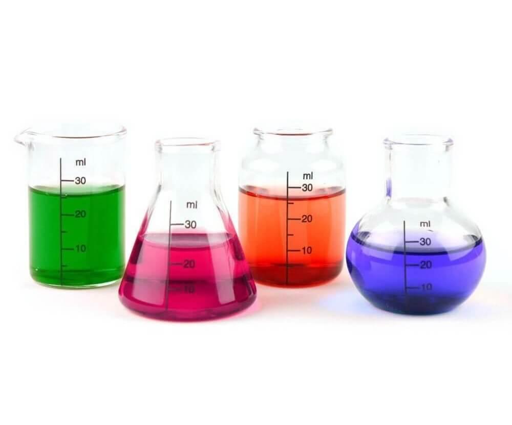 Laborschnaps-Gläser
