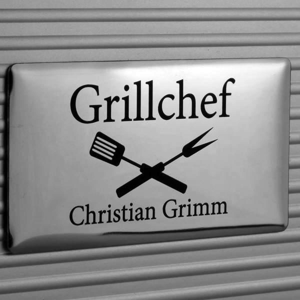 Personalisierbarer Grillkoffer Individuelle Gravur Geschenkidee für Grillmeister 3