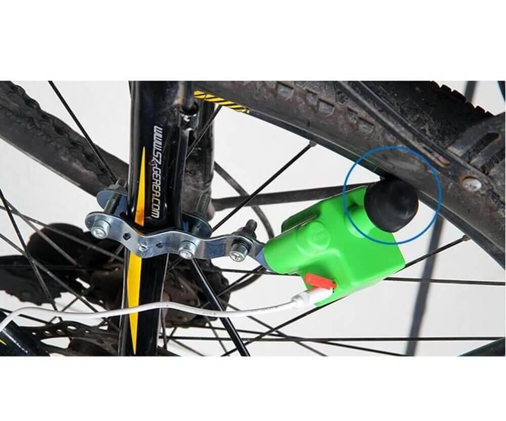 USB Fahrraddynamo