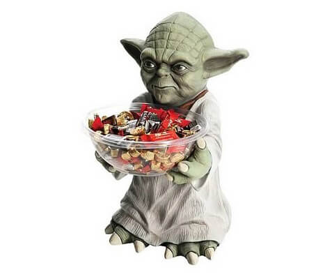 Yoda Süßigkeitenhalter