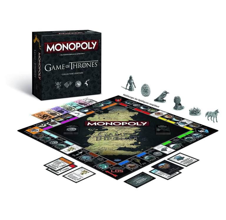 Monopoly Game of Thrones Edition - angesagte Geschenke finden Männerspielzeug kaufen – Männerspielzeuge finden – Spielzeug für Männer finden – bestes Männerspielzeug – Männerspielzeug im Vergleich
