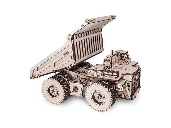Holzbausatz - besten Holzmodell kaufen - Bausatz aus Holz - Geschenkidee und Männerspielzeug - Kipplader aus Holz 2