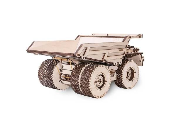 Holzbausatz - besten Holzmodell kaufen - Bausatz aus Holz - Geschenkidee und Männerspielzeug - Kipplader aus Holz 3
