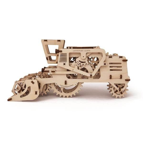 Holzbausatz - besten Holzmodell kaufen - Bausatz aus Holz - Geschenkidee und Männerspielzeug - Mähdrescher aus Holz 2