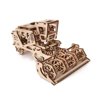 Holzbausatz - besten Holzmodell kaufen - Bausatz aus Holz - Geschenkidee und Männerspielzeug - Mähdrescher aus Holz Männerspielzeug kaufen – Männerspielzeuge finden – Spielzeug für Männer finden – bestes Männerspielzeug – Männerspielzeug im Vergleich