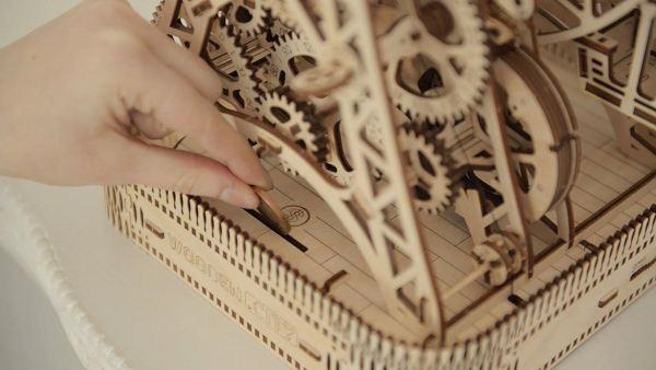 Holzbausatz - besten Holzmodell kaufen - Bausatz aus Holz - Geschenkidee und Männerspielzeug - Riesenrad aus Holz 2