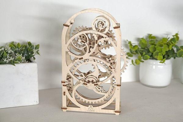 Holzbausatz - besten Holzmodell kaufen - Bausatz aus Holz - Geschenkidee und Männerspielzeug - Uhrwerk aus Holz 2