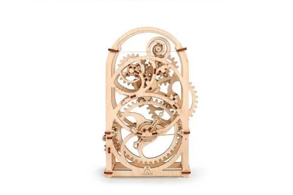 Holzbausatz - besten Holzmodell kaufen - Bausatz aus Holz - Geschenkidee und Männerspielzeug - Uhrwerk aus Holz 3