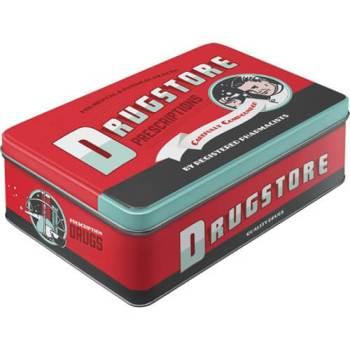Drugstore Blechdose für Kekse
