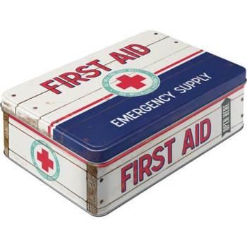 Erste Hilfe Keksdose aus Blech 1