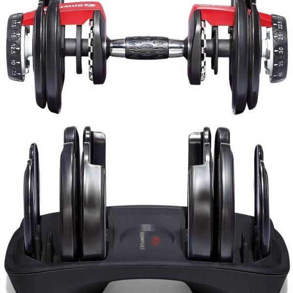 Verstellbare Kurzhantel Set - Intelligentes Hantelsystem - Einstellbare Hanteln kaufen - Geschenk für Sportler - Bowflex 2