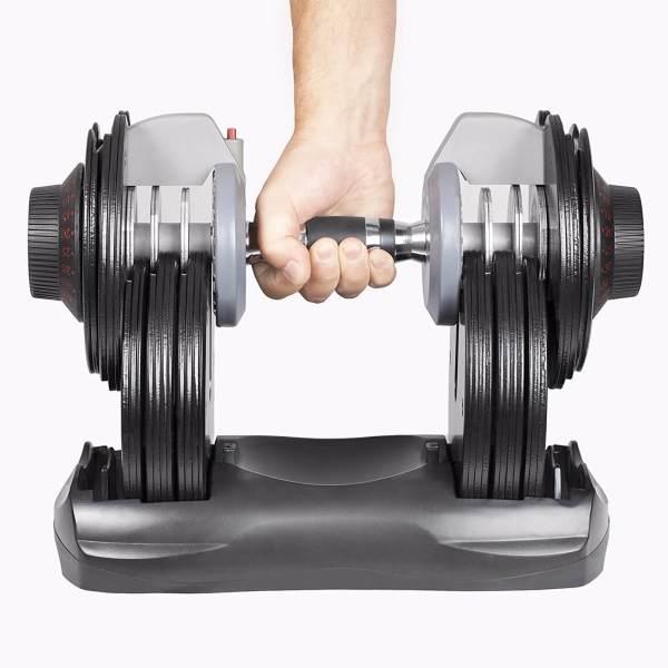 Verstellbare Kurzhantel Set - Intelligentes Hantelsystem - Einstellbare Hanteln kaufen - Geschenk für Sportler - DialTech 4