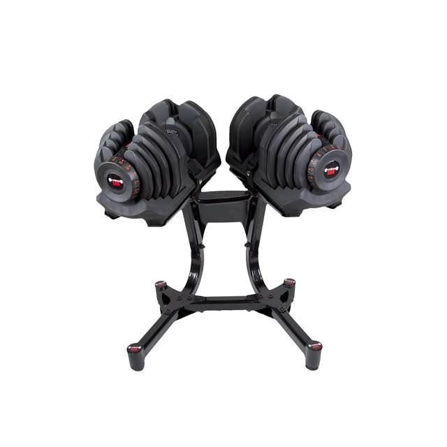 Verstellbare Kurzhantel Set - Intelligentes Hantelsystem - Einstellbare Hanteln kaufen - Geschenk für Sportler - Fitness Raw