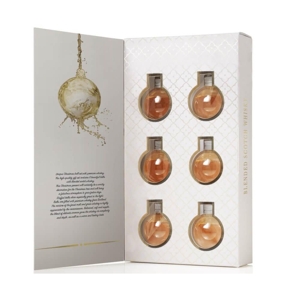 Whisky Weihnachtskugeln - Weihnachtsgeschenke für Männer