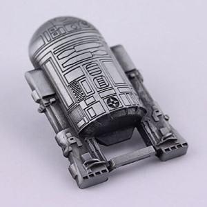 Aussergewöhnliche Flaschenöffner ungewöhnlich Kapselheber ausgefallen Bieröffner - coole, besondere, beste, originelle, aus Holz - Schlüsselanhänger Star Wars R2D2