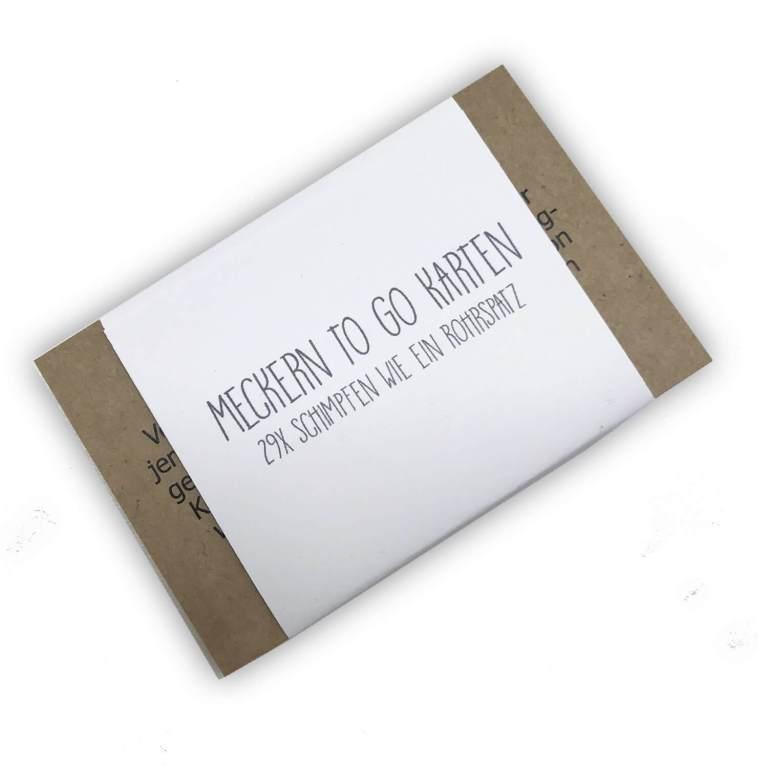 Mecker-Karten - Männergeschenke finden