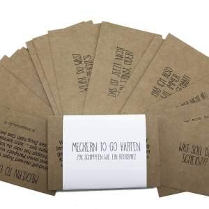 Mecker-Karten - Anti-Stress-Geschenk