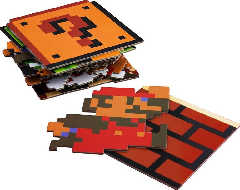 20 retro Super Mario Untersetzer