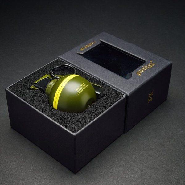 Feuerzeug im Granaten Design - Sturmfeuerzeug Granatnendesign - Geschenke für Männer kaufen High Explosive Nade 5