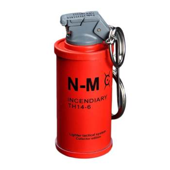 Feuerzeug im Granaten Design - Sturmfeuerzeug Granatnendesign - Geschenke für Männer kaufen Incendiary Nade 1