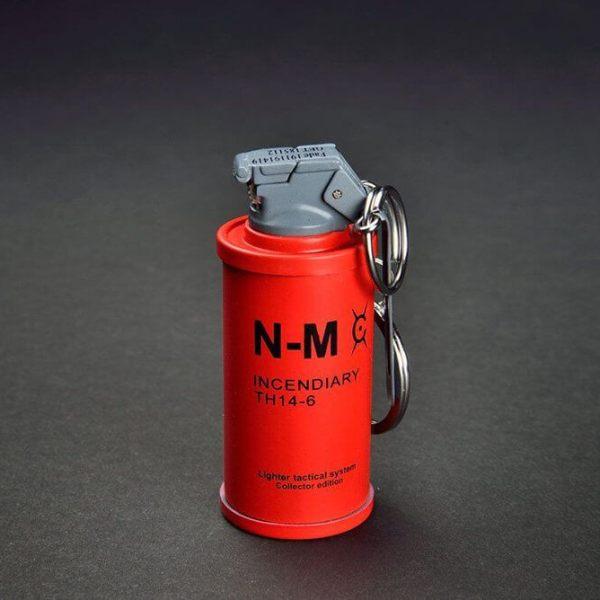 Feuerzeug im Granaten Design - Sturmfeuerzeug Granatnendesign - Geschenke für Männer kaufen Incendiary Nade 2